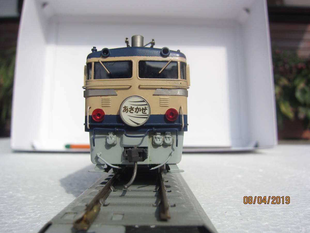 EF65電気機関車 (カツミ模型)  HO  真鍮製_画像3
