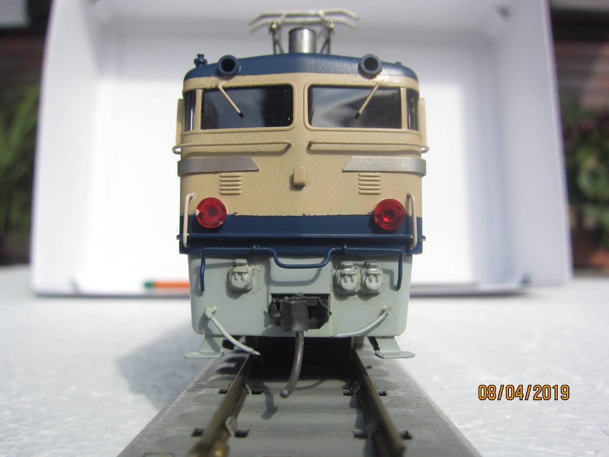 EF65電気機関車 (カツミ模型)  HO  真鍮製_画像5