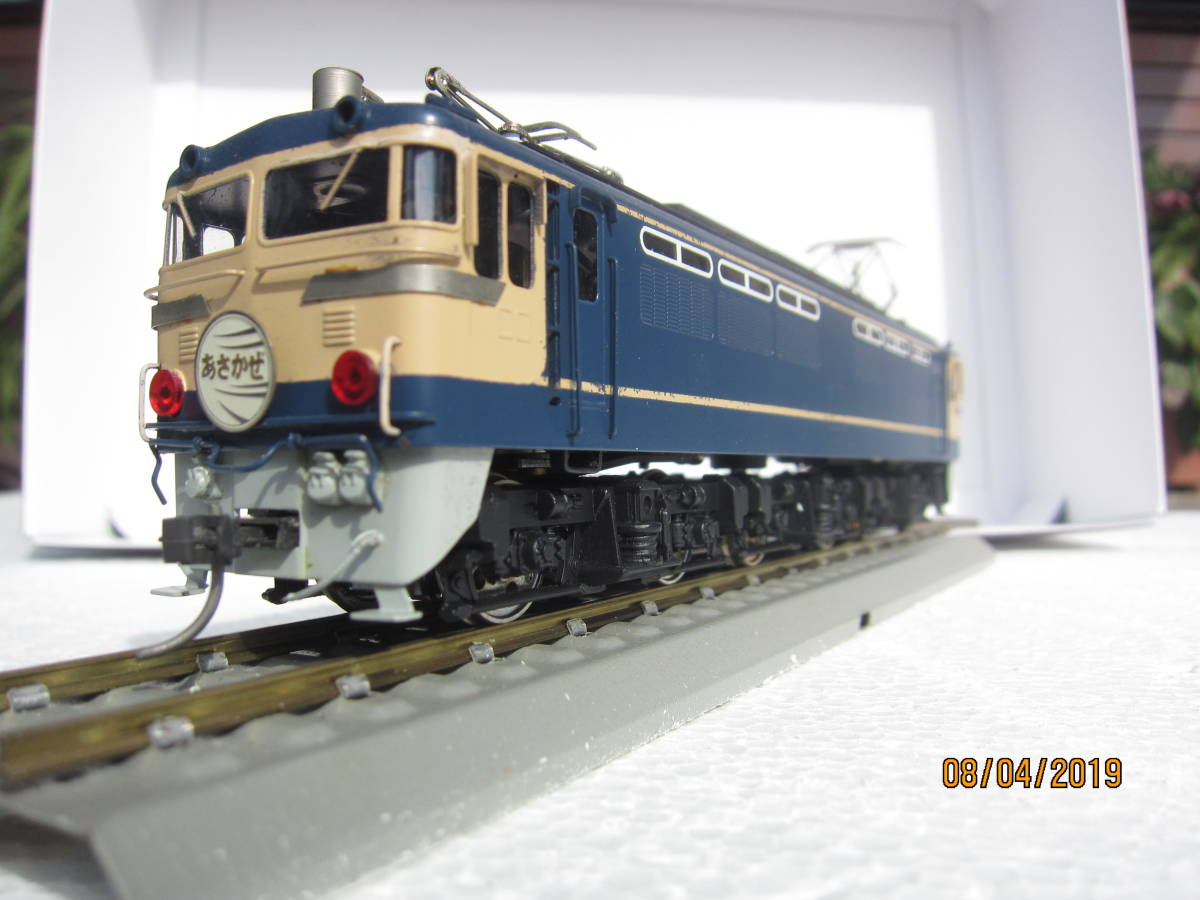 EF65電気機関車 (カツミ模型)  HO  真鍮製_画像6