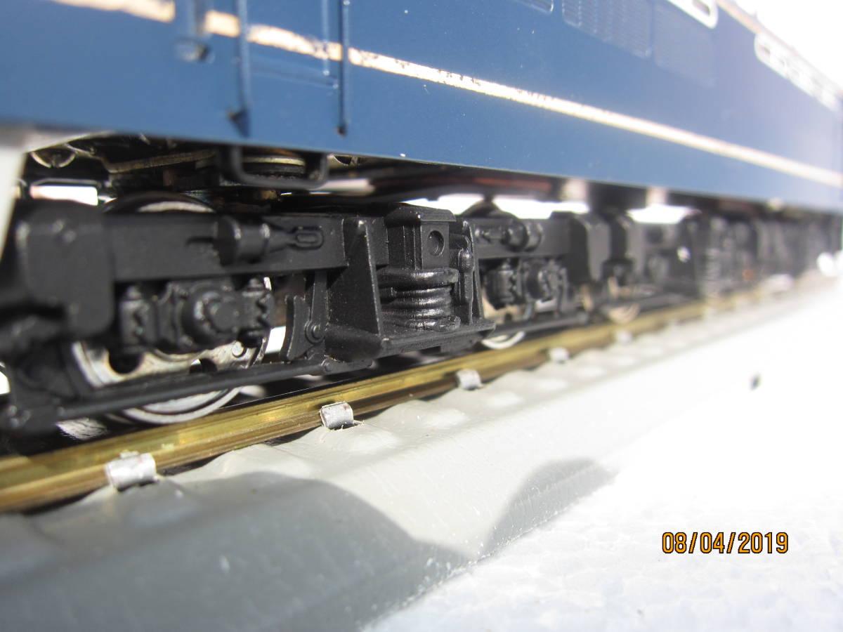 EF65電気機関車 (カツミ模型)  HO  真鍮製_画像7