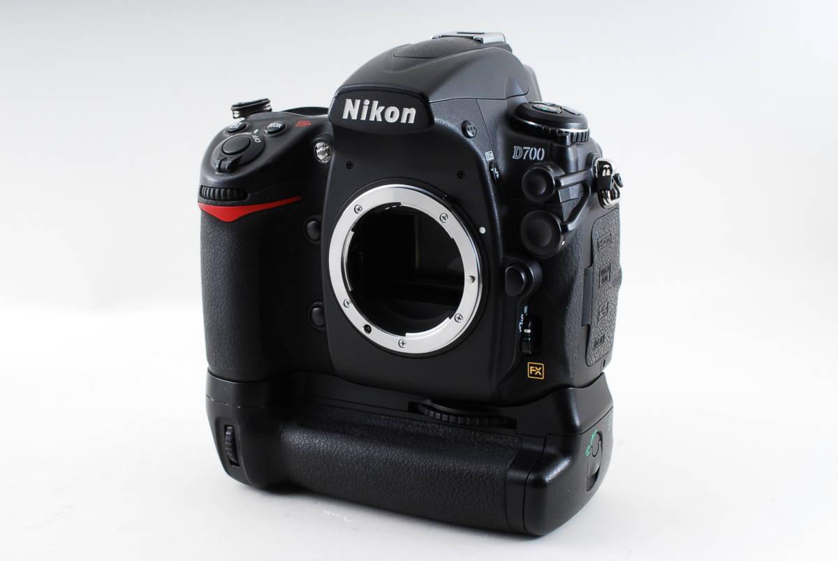 ★付属品豪華★ニコン Nikon D700 ボディー バッテリーグリップ 予備バッテリー 状態の良いものをお探しの方に是非オススメです