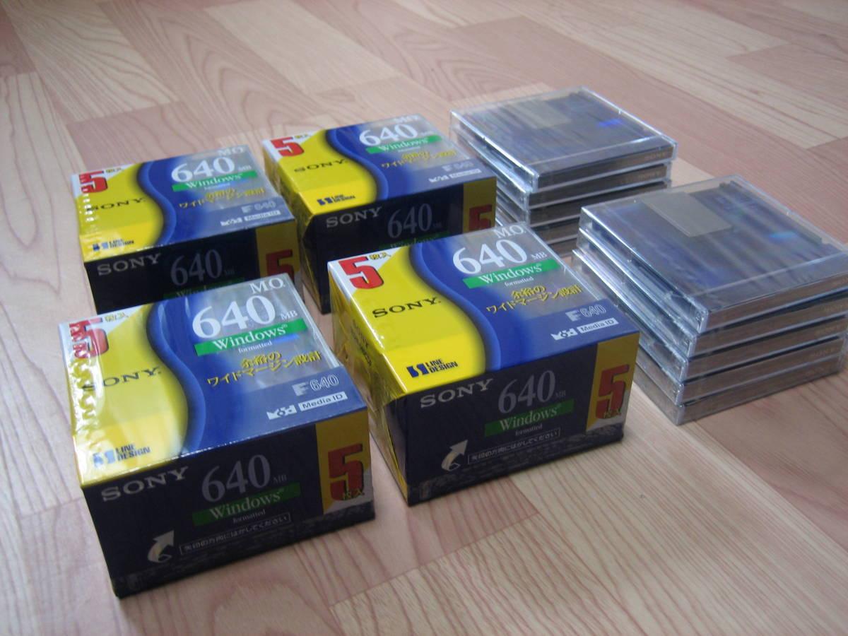 SONY MOディスク 640MB 5EDM-640CDF 30枚(新品)_画像2