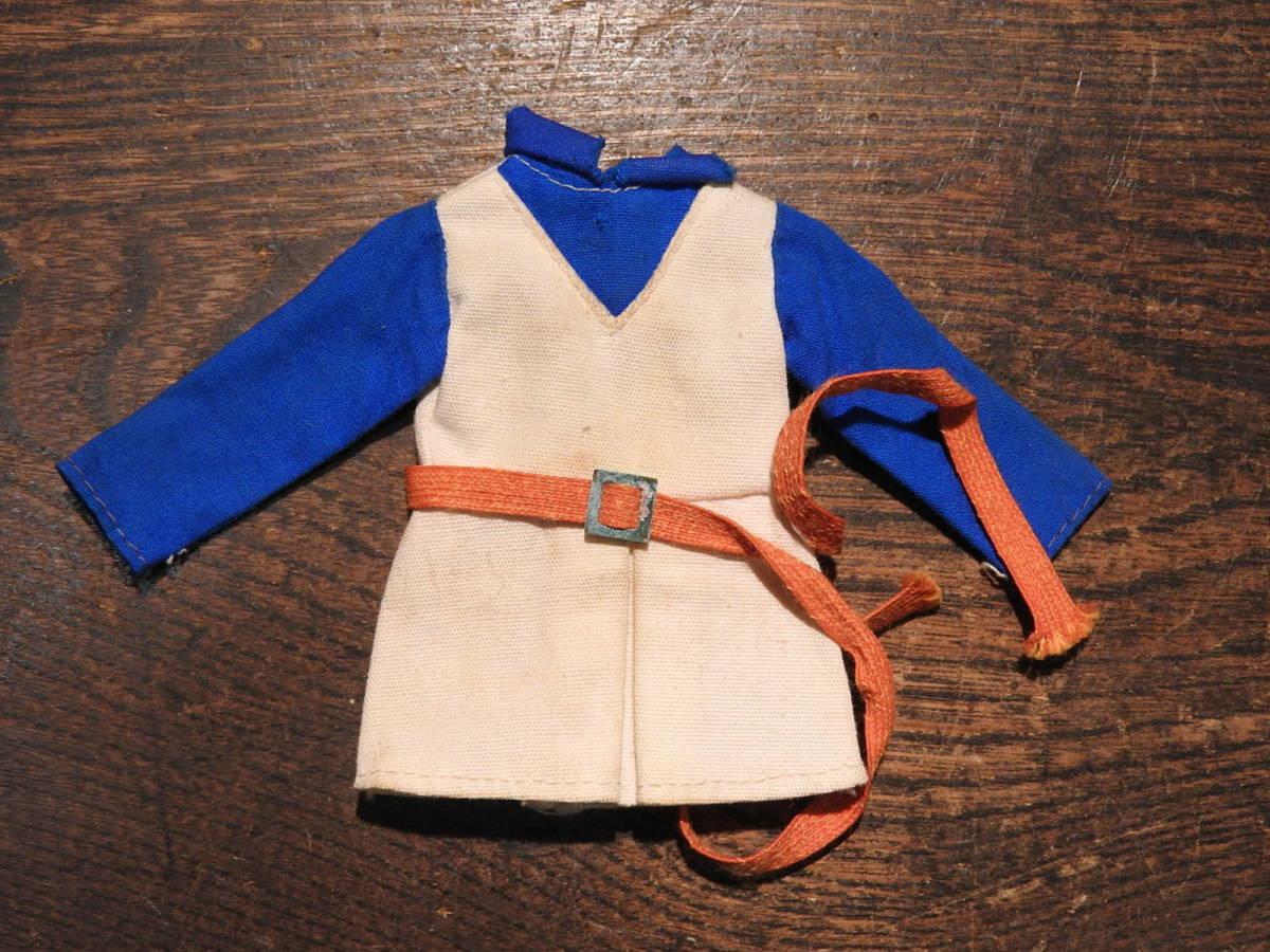 □着せ替え人形お洋服 リカちゃん人形 セットアップ ベルト 旧タカラタグ