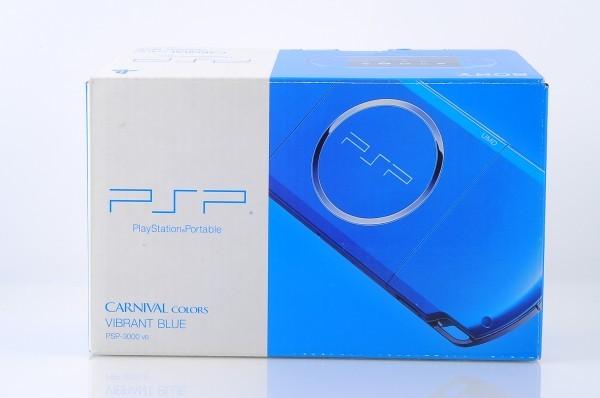 【本体 新品同様】 PSP-3000 PSP 本体 バイブラント・ブルー PSP-3000VB 希少