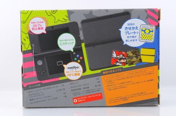 【本体新品同様】 New ニンテンドー 3DS ブラック 本体 付属品完備_画像3