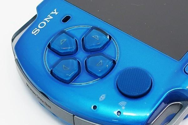 【本体 新品同様】 PSP-3000 PSP 本体 バイブラント・ブルー PSP-3000VB 希少_画像7