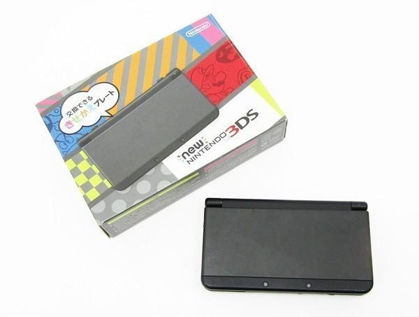 【本体新品同様】 New ニンテンドー 3DS ブラック 本体 付属品完備_画像5