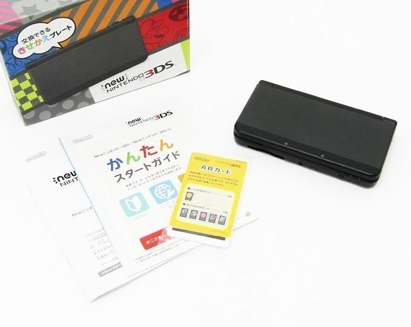 【本体新品同様】 New ニンテンドー 3DS ブラック 本体 付属品完備_画像4