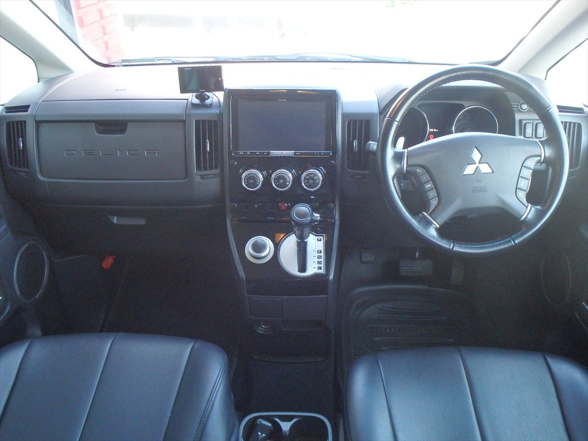 デリカD5 5inch アップ+オーバーフェンダー MUDJAYSON デモカー 公認車 予備検わたし 走行3.5万k 10年10万kメーカー保証対応車_画像2