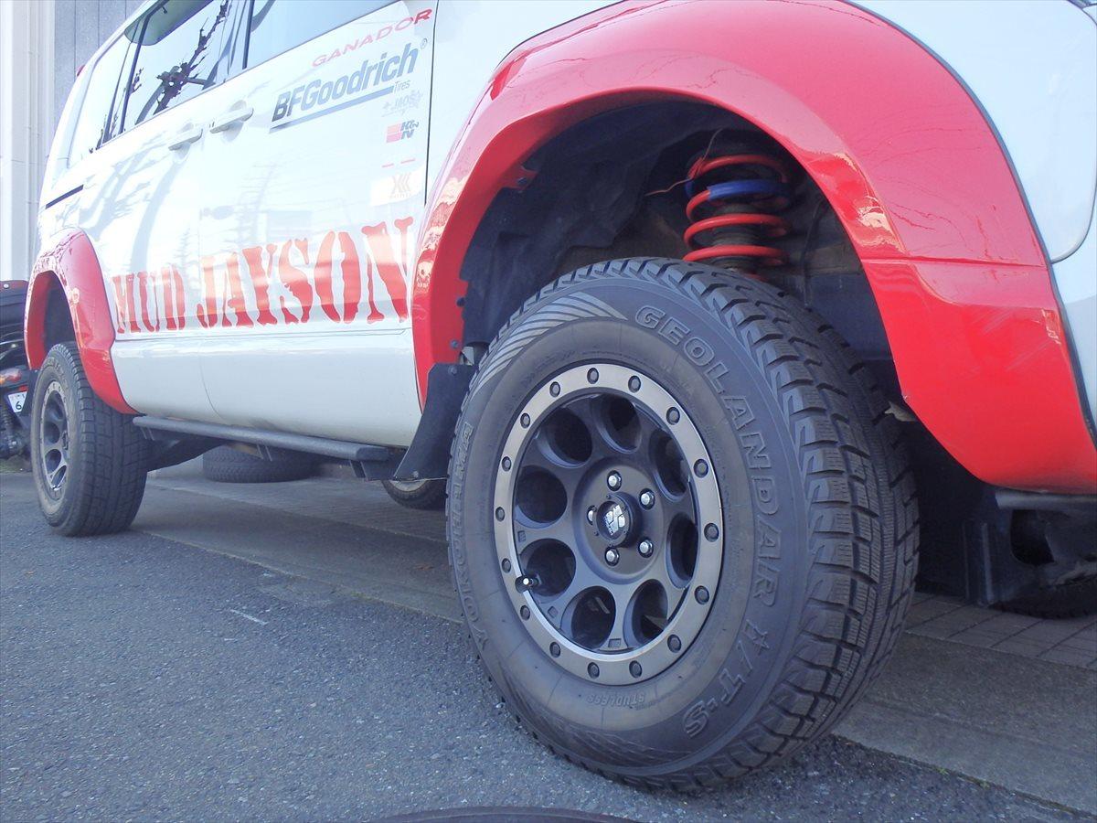 デリカD5 5inch アップ+オーバーフェンダー MUDJAYSON デモカー 公認車 予備検わたし 走行3.5万k 10年10万kメーカー保証対応車_画像4
