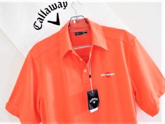 ◎新品◎Callaway キャロウェイ / オデッセイ Wネーム プルオーバーシャツ DRY / サイズM(USサイズ)_画像8