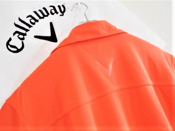 ◎新品◎Callaway キャロウェイ / オデッセイ Wネーム プルオーバーシャツ DRY / サイズM(USサイズ)_画像3
