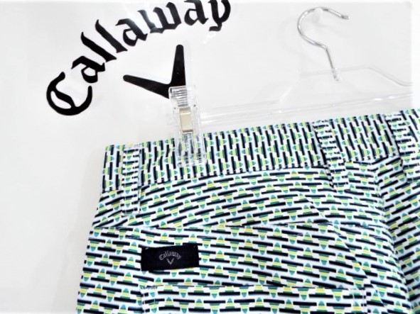 ◎新品◎Callaway キャロウェイ / w88-90 / 春夏 / メキシカンプリント ストレートパンツ / 定価14,040円 / DRY / UV / サイズLL_画像5
