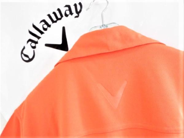 ◎新品◎Callaway キャロウェイ / オデッセイ Wネーム プルオーバーシャツ DRY / サイズM(USサイズ)_画像7