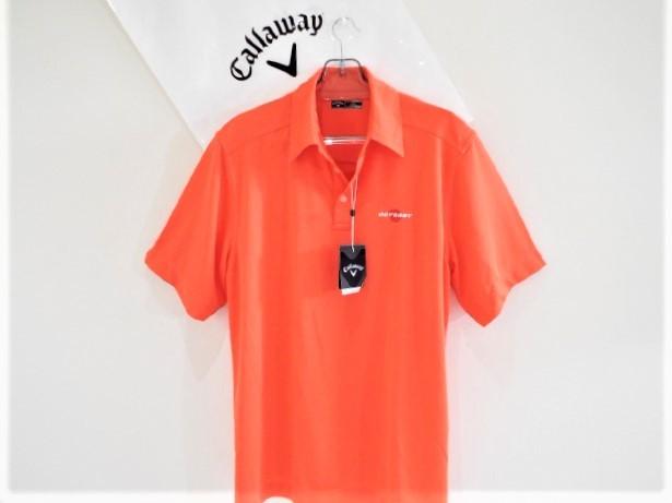 ◎新品◎Callaway キャロウェイ / オデッセイ Wネーム プルオーバーシャツ DRY / サイズM(USサイズ)_画像9