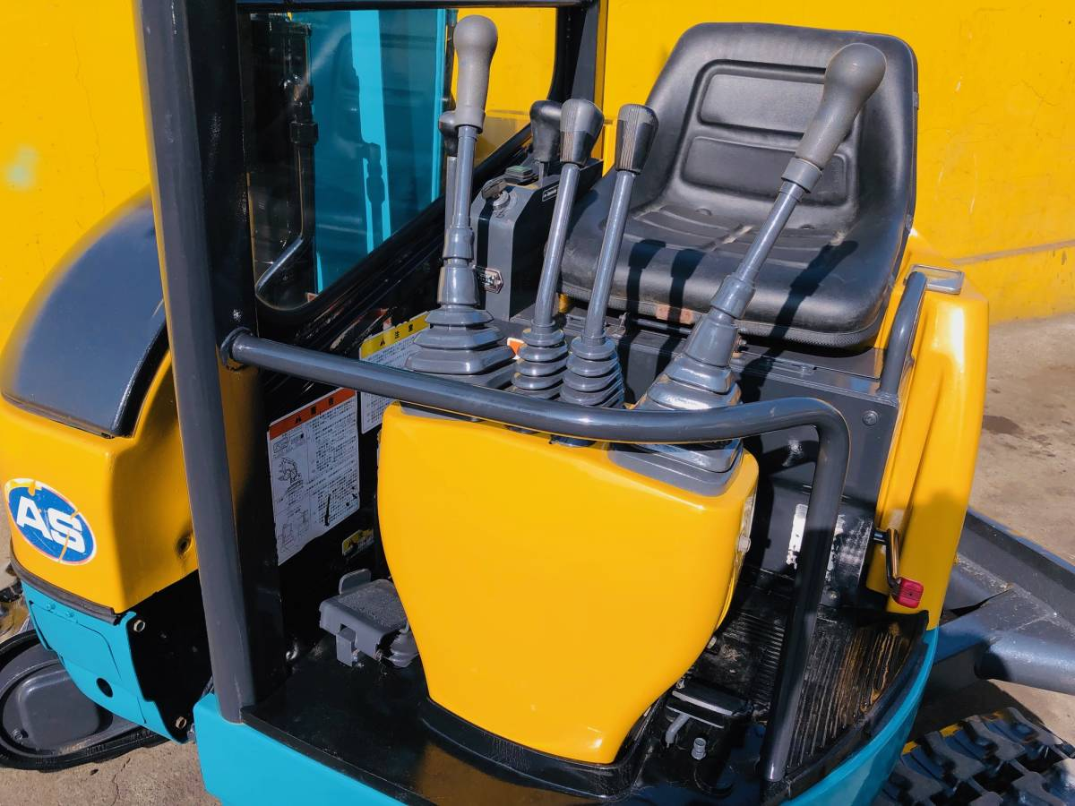 クボタ RX202 ミニユンボ 2tクラス 倍速・マルチ付 稼働時間981h 売り切り_画像5