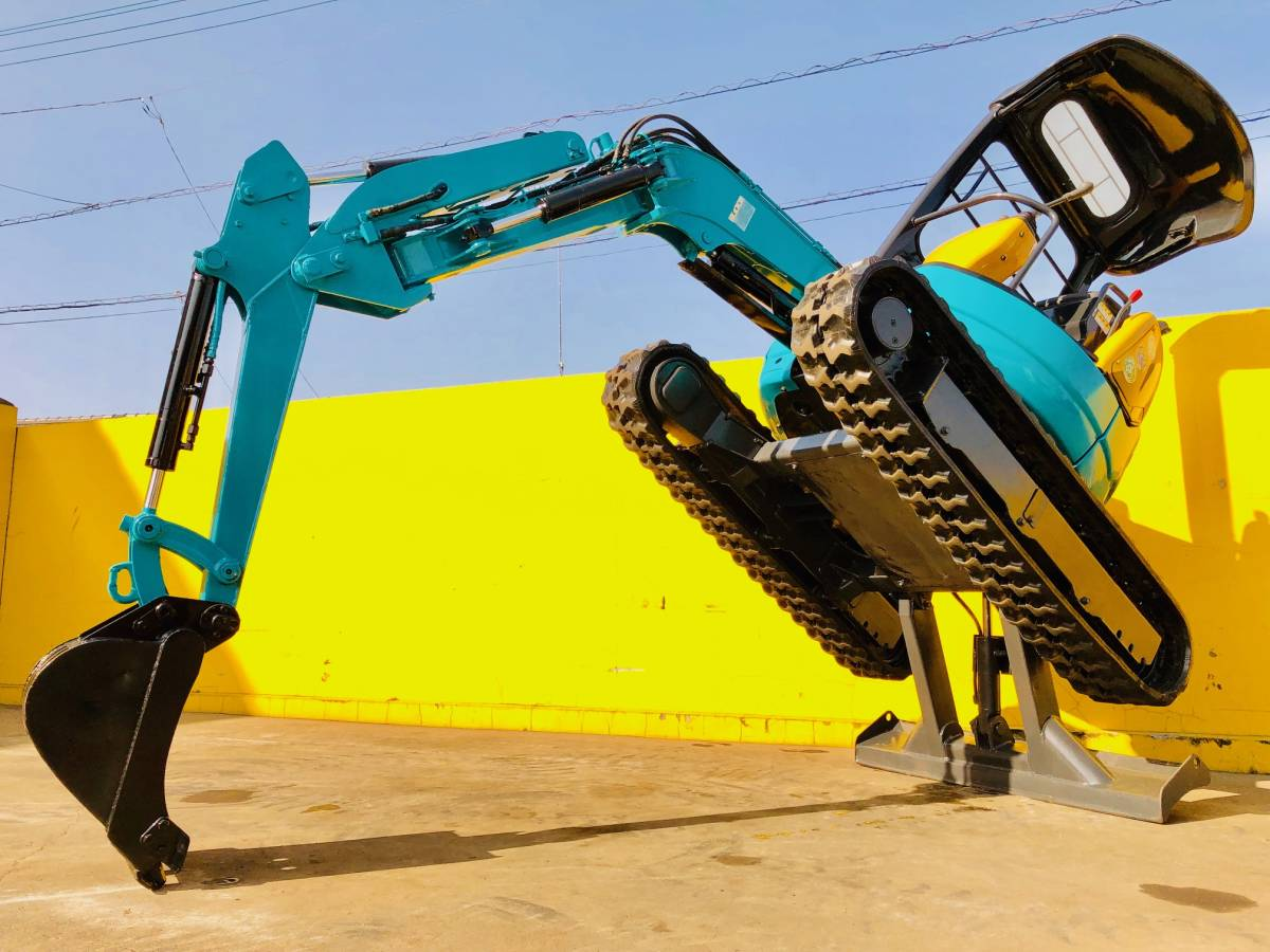 クボタ RX202 ミニユンボ 2tクラス 倍速・マルチ付 稼働時間981h 売り切り_画像3