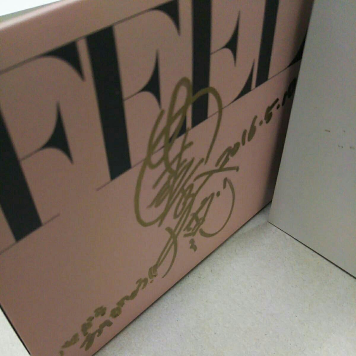 安室奈美恵さんFEEL直筆サインメッセージ、日付入りの一点物、初版プレスです。_画像5