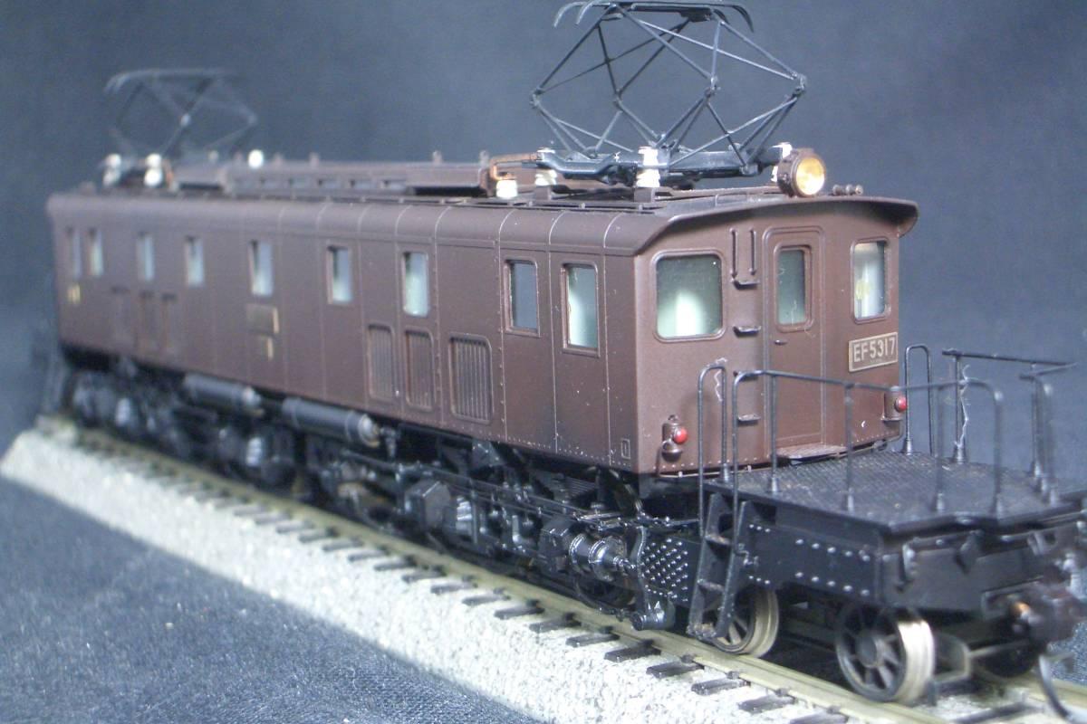 鉄道模型趣味誌掲載.精密加工モデル・国鉄EF53形電機~珊瑚製キット組立/ウェザリング仕上_画像7