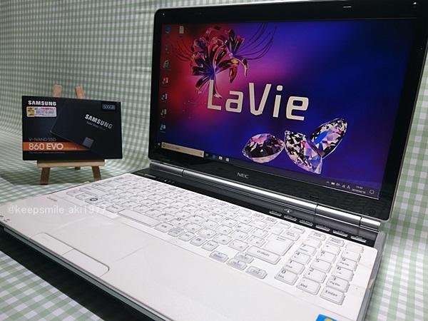 超高速 Core i7 【新品SSD】500G 【超快速仕様☆Windows10】NEC LL750/F PC-LL750FS6W メモリ8G BD-RE Office 高音質YAMAHA音源 1円~