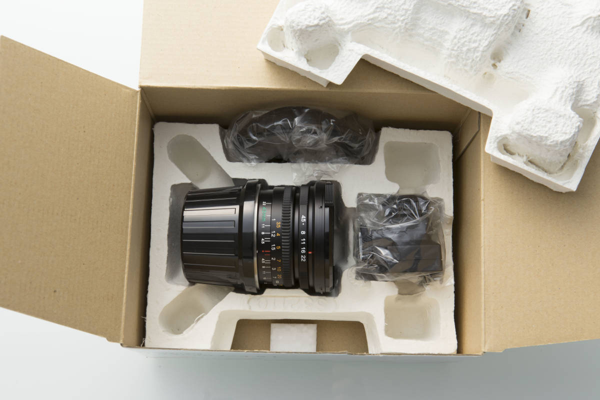 再出品 点検清掃済み 超美品 マミヤ Mamiya7 Ⅱ 用交換レンズ N 43mm F/4.5 L Serial No. DC1039 元箱付属品全て付属