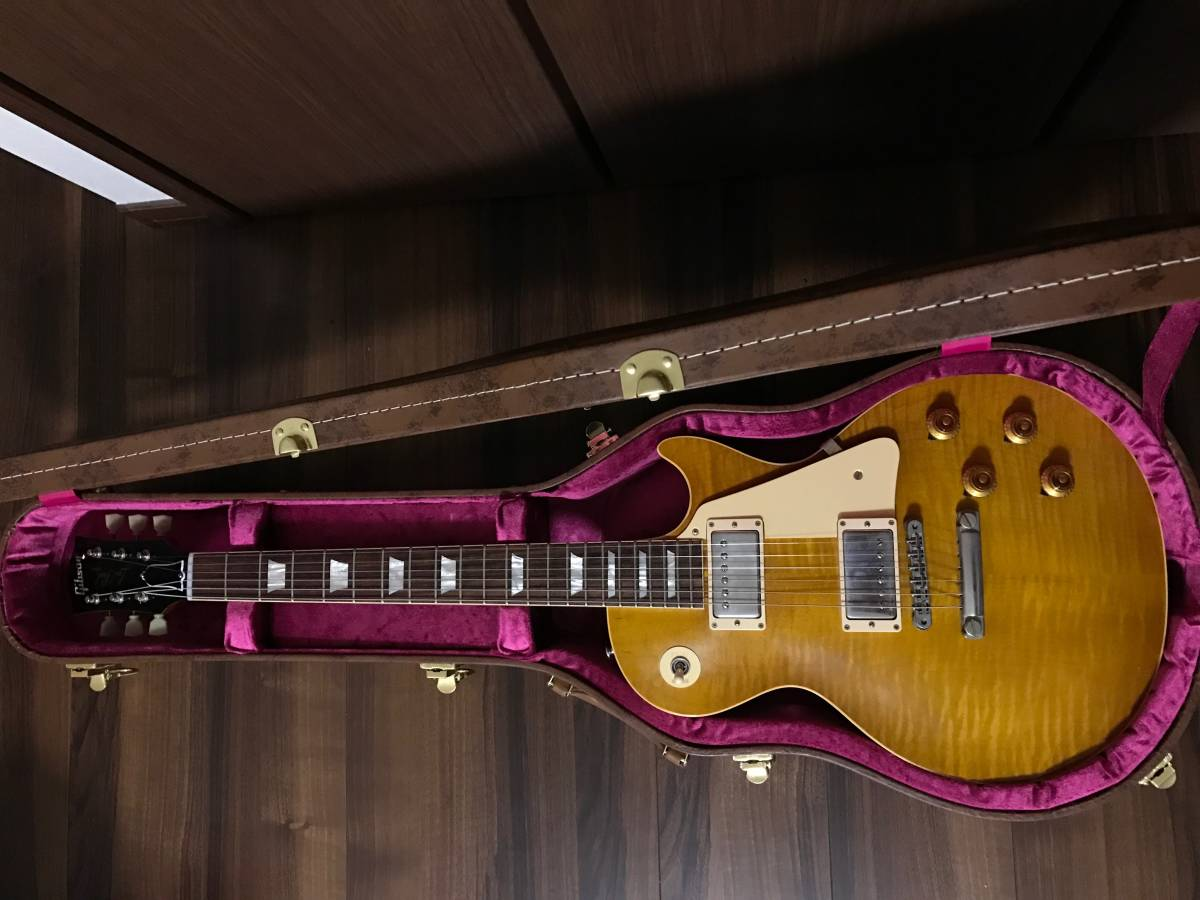 Gibson Custom Shop 1958 Les Paul HRM VOS Dirty Lemon