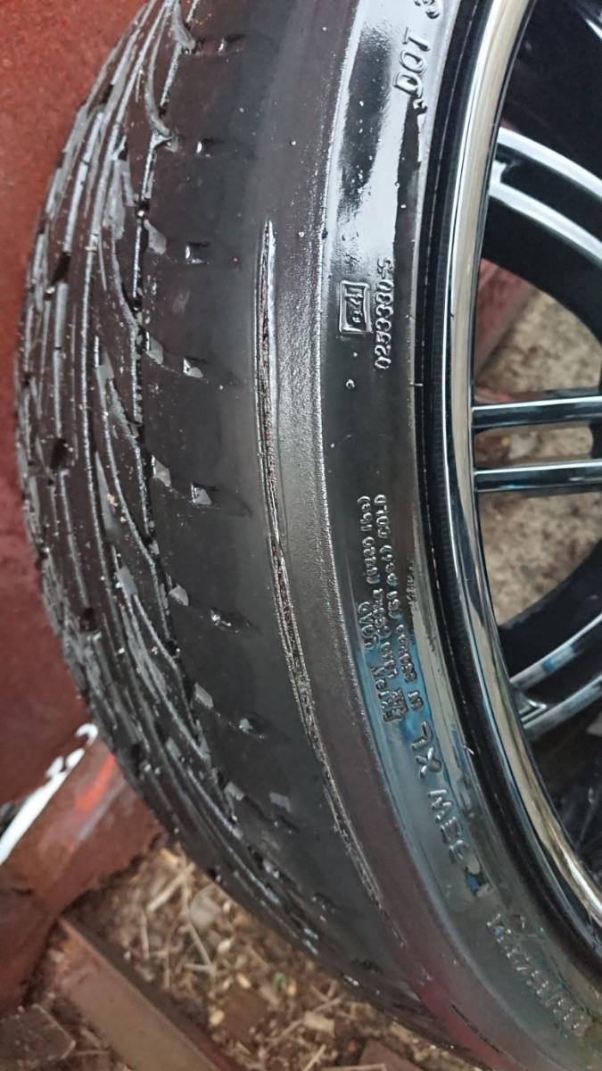 キャラバン・ハイエース GPO MOTORING 20インチホイール4本セット_タイヤのワイヤー箇所