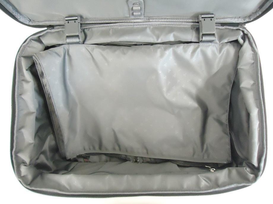 TUMI トゥミ ナイロン キャリーバッグ 黒 スーツケース トラベルバッグ ビジネスバッグ キャリーケース 旅行 2輪キャスター ブラック 良品_画像8