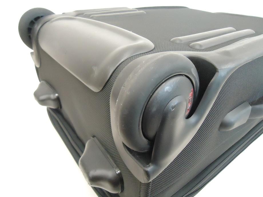 TUMI トゥミ ナイロン キャリーバッグ 黒 スーツケース トラベルバッグ ビジネスバッグ キャリーケース 旅行 2輪キャスター ブラック 良品_画像9