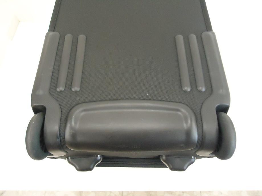 TUMI トゥミ ナイロン キャリーバッグ 黒 スーツケース トラベルバッグ ビジネスバッグ キャリーケース 旅行 2輪キャスター ブラック 良品_画像4