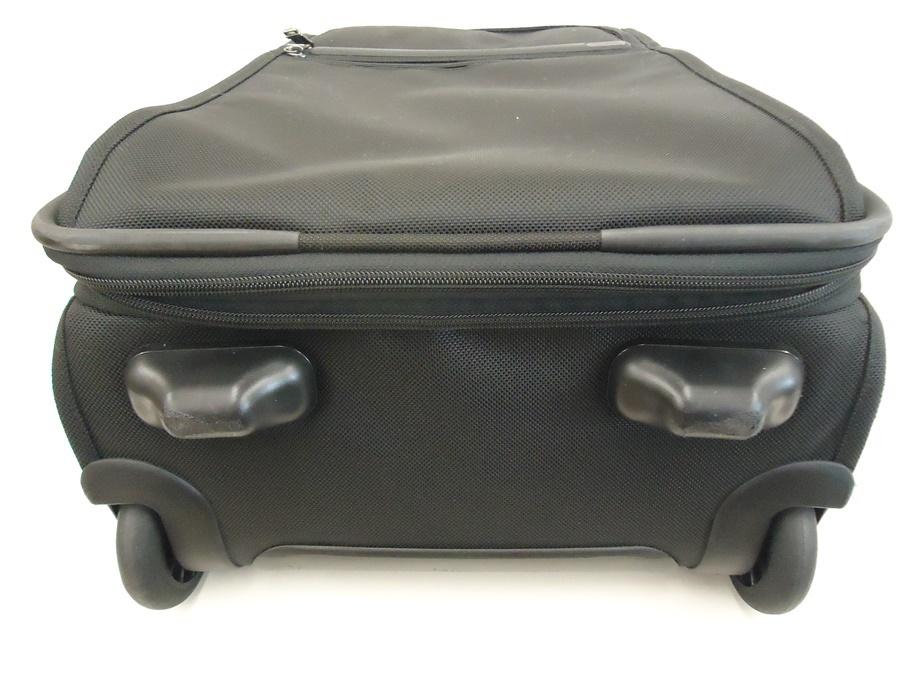 TUMI トゥミ ナイロン キャリーバッグ 黒 スーツケース トラベルバッグ ビジネスバッグ キャリーケース 旅行 2輪キャスター ブラック 良品_画像5
