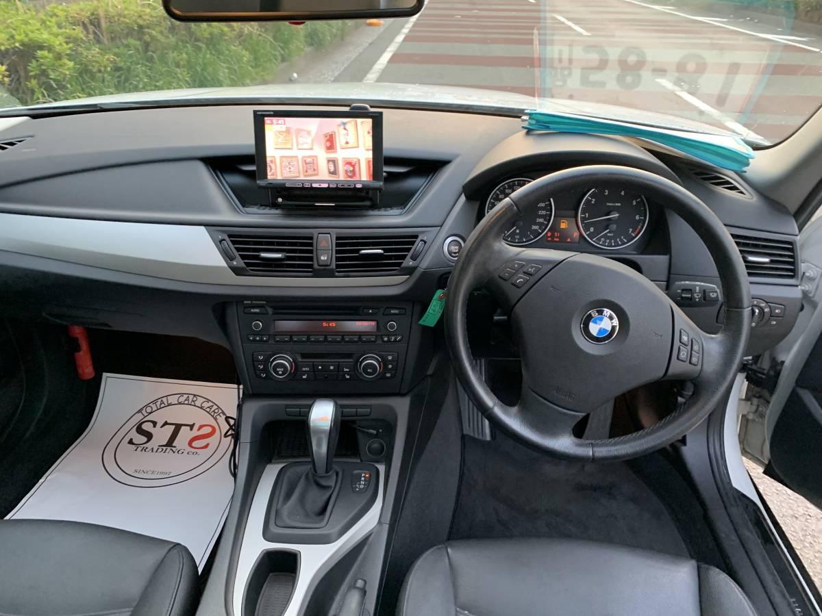 激安 22年 X1 Sドライブ レザーシート サンルーフ ワンオーナー 人気シロ 予備検 OK_画像5