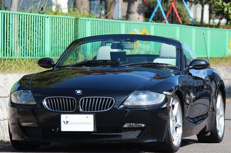 【電動オープン良好/後期型】E85/06y/BMW Z4 ロードスター2.5i/白レザー/18インチAW/外ナビ/TV/HID/6速AT/スペアキー/内外美車_即決・お問合せは080-4226-4455まで!!
