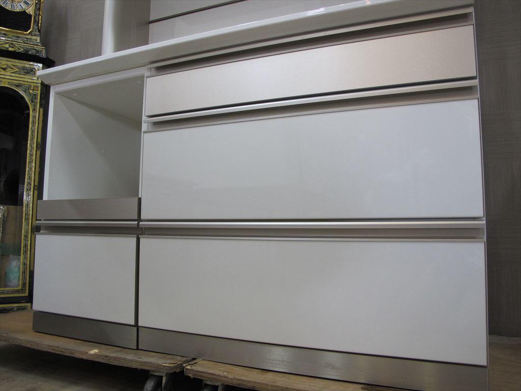 美品 綾野製作所 120cm幅 キッチンボード 約20万円 AC AYANO キッチン収納 食器棚_画像8