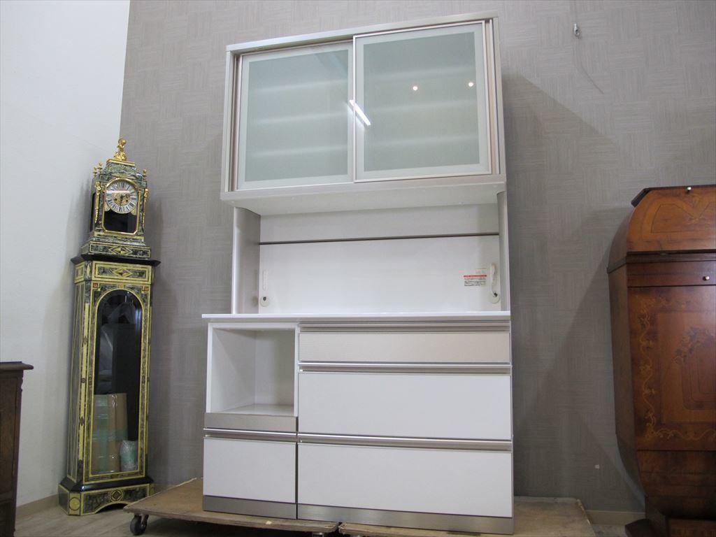 美品 綾野製作所 120cm幅 キッチンボード 約20万円 AC AYANO キッチン収納 食器棚