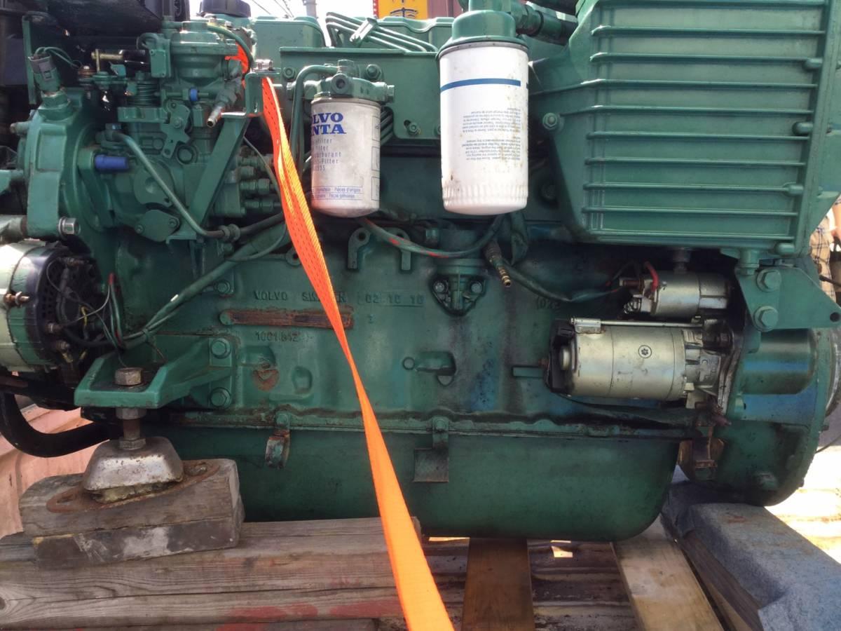 希少! ボルボペンタ AD43 エンジン ディーゼル VOLVOPENTA 43 Diesel _画像7