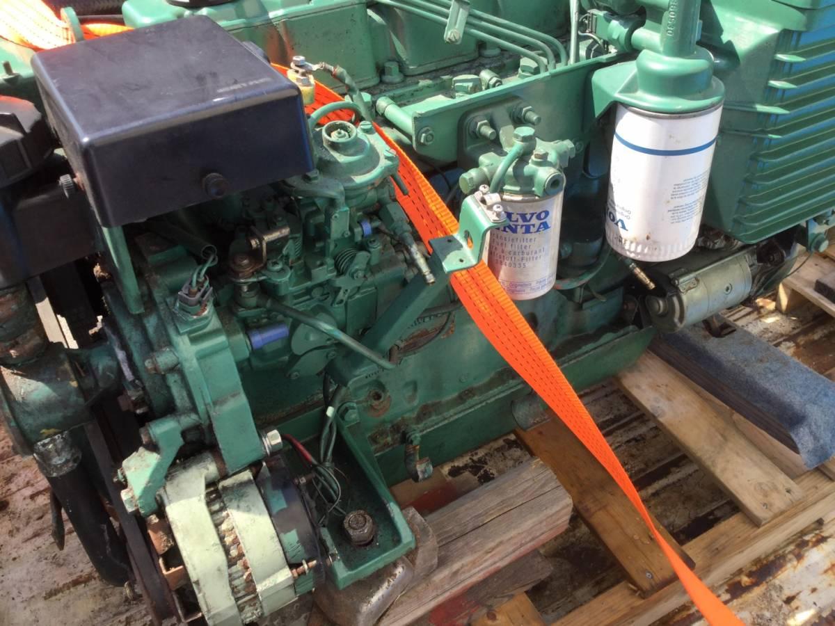 希少! ボルボペンタ AD43 エンジン ディーゼル VOLVOPENTA 43 Diesel _画像9