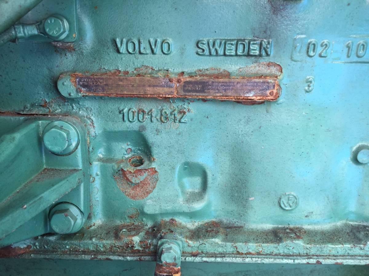 希少! ボルボペンタ AD43 エンジン ディーゼル VOLVOPENTA 43 Diesel _画像10