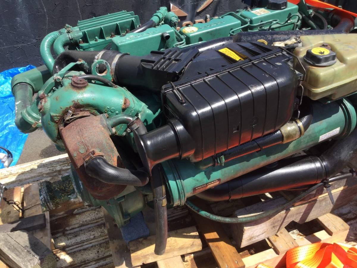 希少! ボルボペンタ AD43 エンジン ディーゼル VOLVOPENTA 43 Diesel _画像3