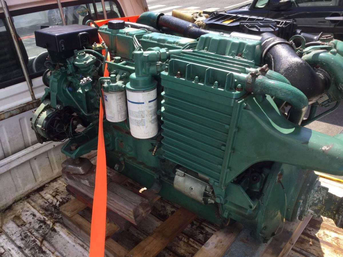 希少! ボルボペンタ AD43 エンジン ディーゼル VOLVOPENTA 43 Diesel _画像6