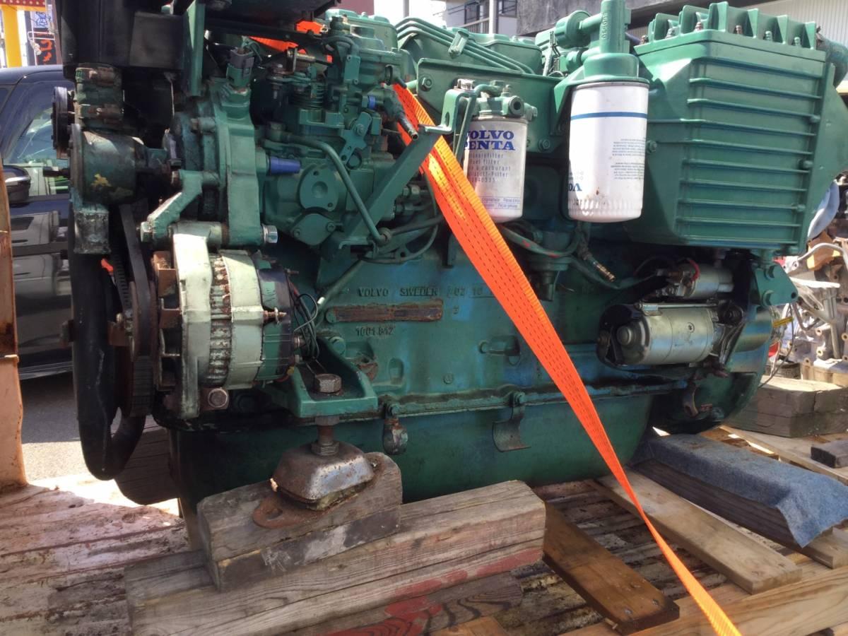 希少! ボルボペンタ AD43 エンジン ディーゼル VOLVOPENTA 43 Diesel _画像8