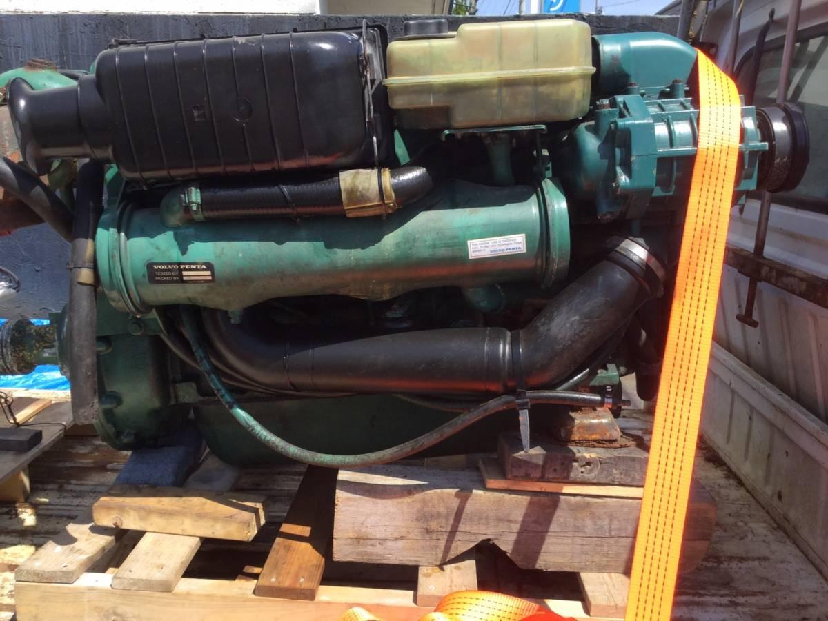 希少! ボルボペンタ AD43 エンジン ディーゼル VOLVOPENTA 43 Diesel _画像2