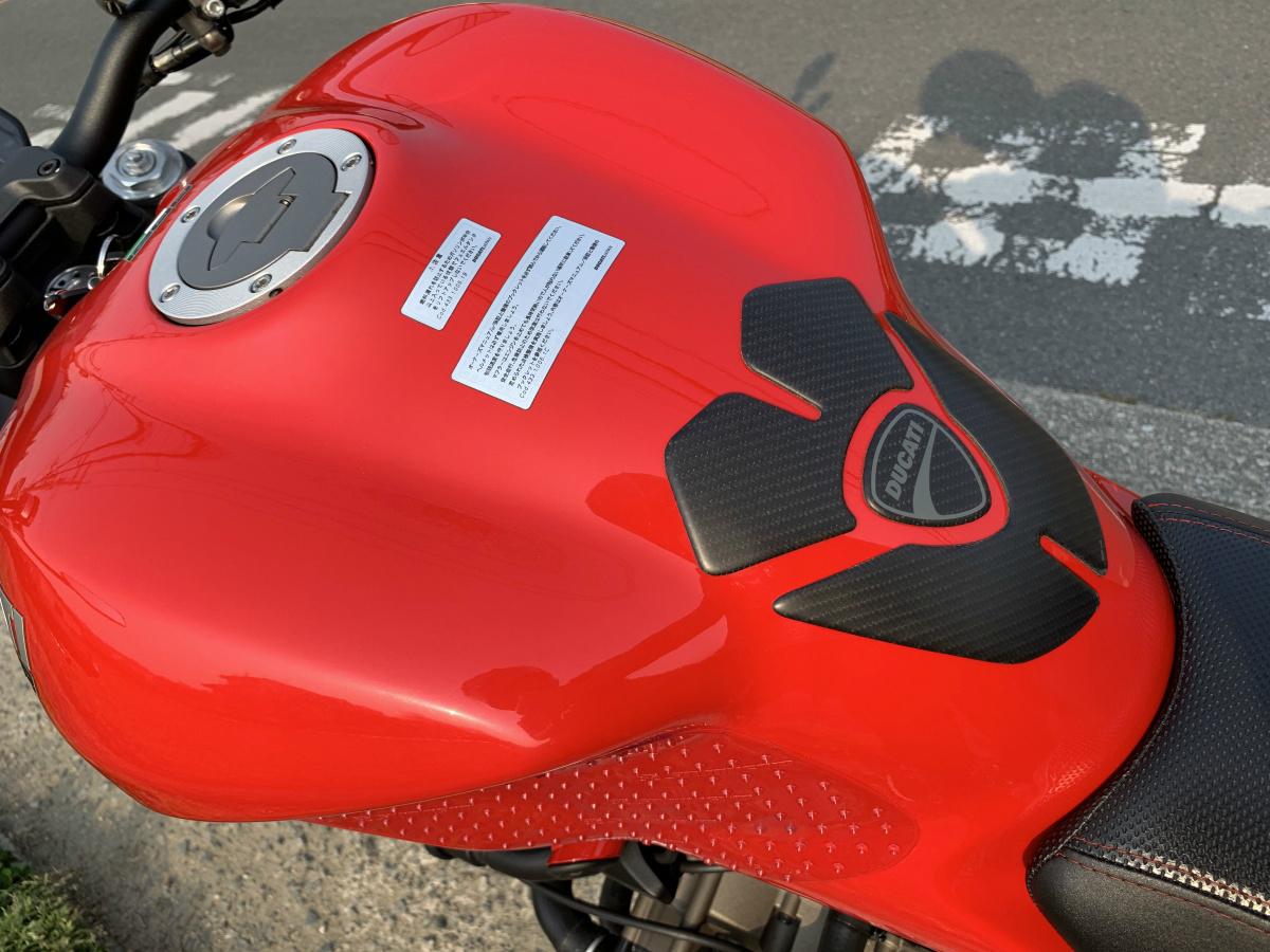 ドゥカティ モンスター1200 ETC付き 2018年9月にドゥカティ正規ディーラーより中古車として購入したバイク_画像5