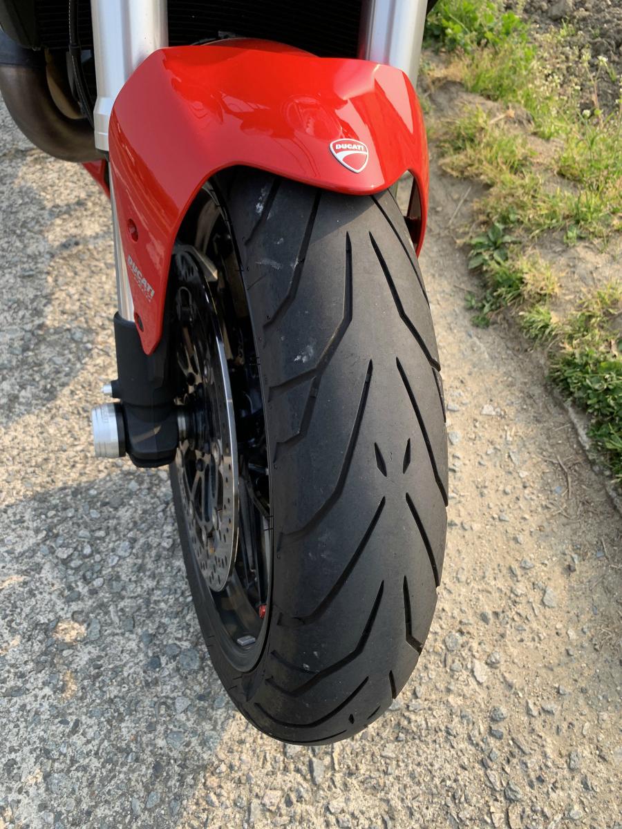 ドゥカティ モンスター1200 ETC付き 2018年9月にドゥカティ正規ディーラーより中古車として購入したバイク_画像7