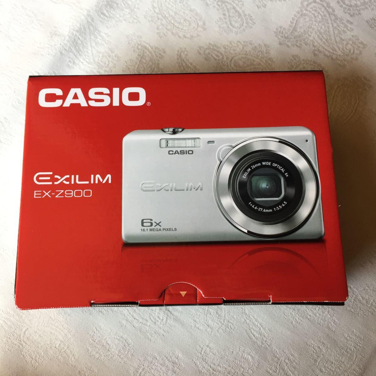 新品 CASIO EX-Z900 EXILIM カシオ デジタルカメラ コンパクト