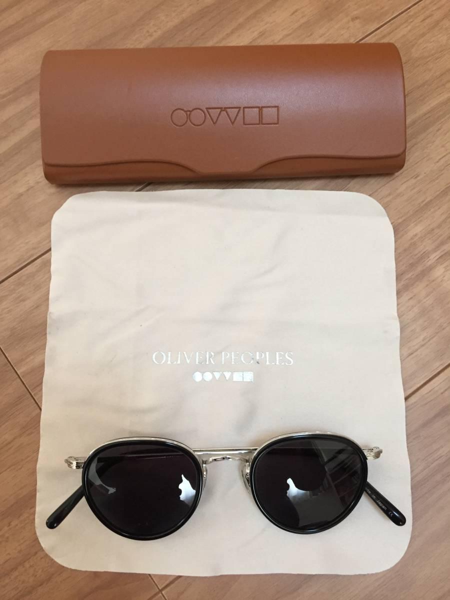 オリバピープルズ OLIVER PEOPLES MP-2 雅 サングラス 眼鏡 46 24 148_画像2