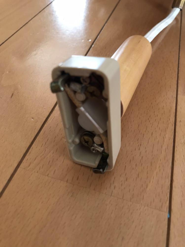【中古/美品】ダイニング ペンダントライト 木製シェード 3灯 北欧_画像4