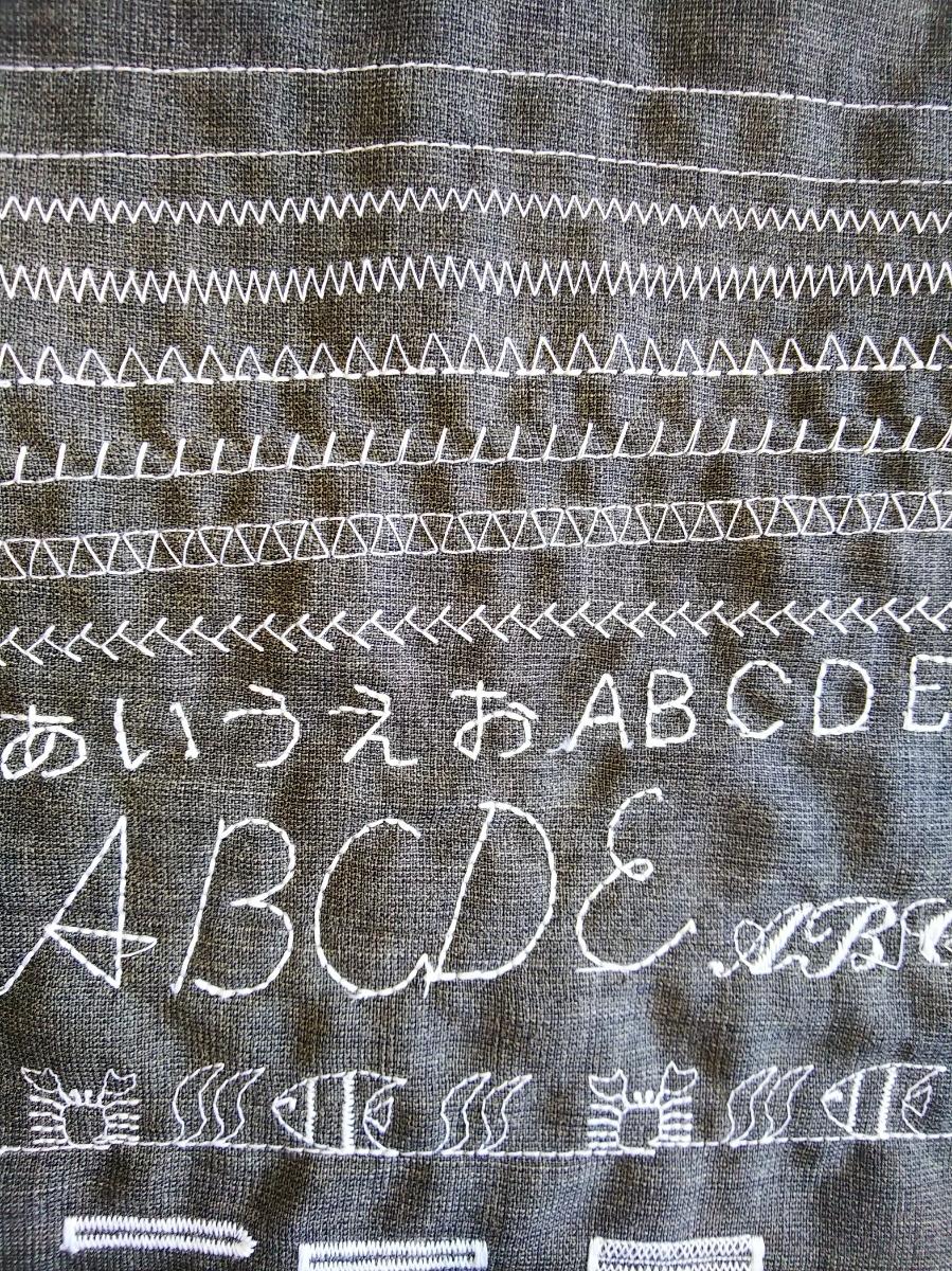 ★美品★ブラザー/ミッキー・くまのプーさん ディズニーキャラクター刺繍コンピューターミシン D-9000W(EM105) 好調_画像10