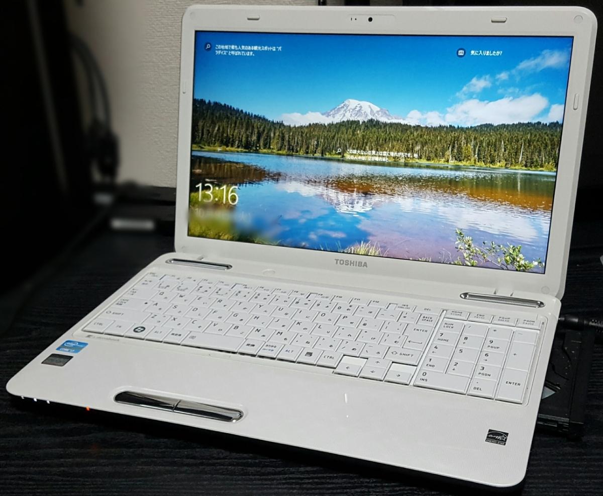 綺麗☆起動約10秒(^o^)Core i7[4~8GB]爆速大容量【SSD新品480~720GB】dynabook Win10 Office[DVD~Blu-ray]カメラ HDMI[即決新品バッテリー]