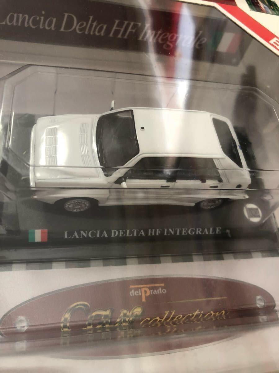 ゆうパック 送料0円 ランチア デルタ Lancia Delta HF Integrale 1/43 絶版 デル・プラド ダイキャスト製 ミニカー ブリスター未開封